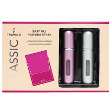 DAMARI Travalo Geschenkpackung Classic HD Pink&Silver