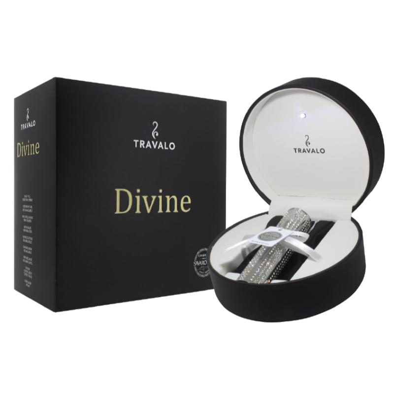DAMARI Travalo Parfuemzerstaeuber - Divine-HD silver