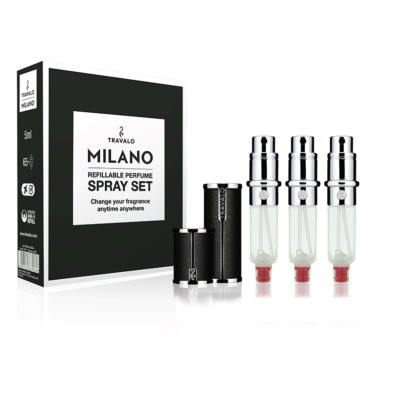 Travalo Milano Set Black